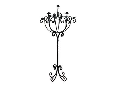 Wrought Iron Candlestick